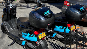 It's baaack! Scooter-sharing company Revel returns with mandatory helmet selfies and more.