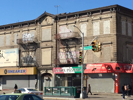 Farewell to the former Hotel Olga–most likely the future site of Al Sharpton's civil rights museum