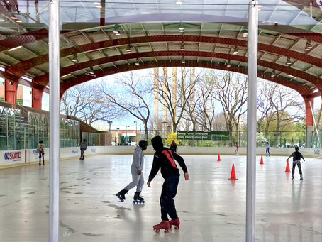 Harlem's only outdoor roller skating rink is now open for the season