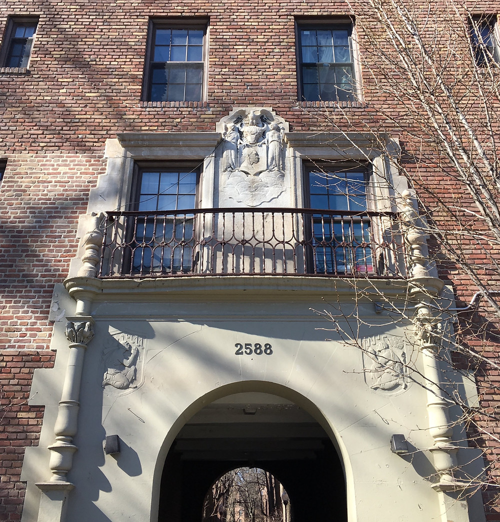 "The Dunbar Apartments, once home to Bill ""Bojangles"" Robinson and W.E.B. Du Bois"