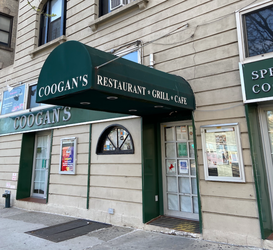 Coogan's in Washington Heights is permanently closing