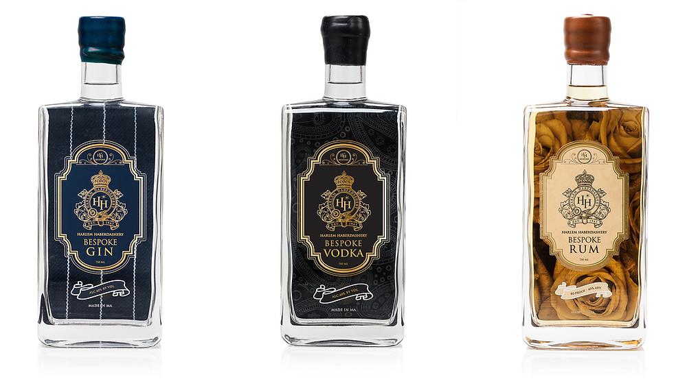 Harlem Haberdashery Bespoke Gin, Vodka and Rum
