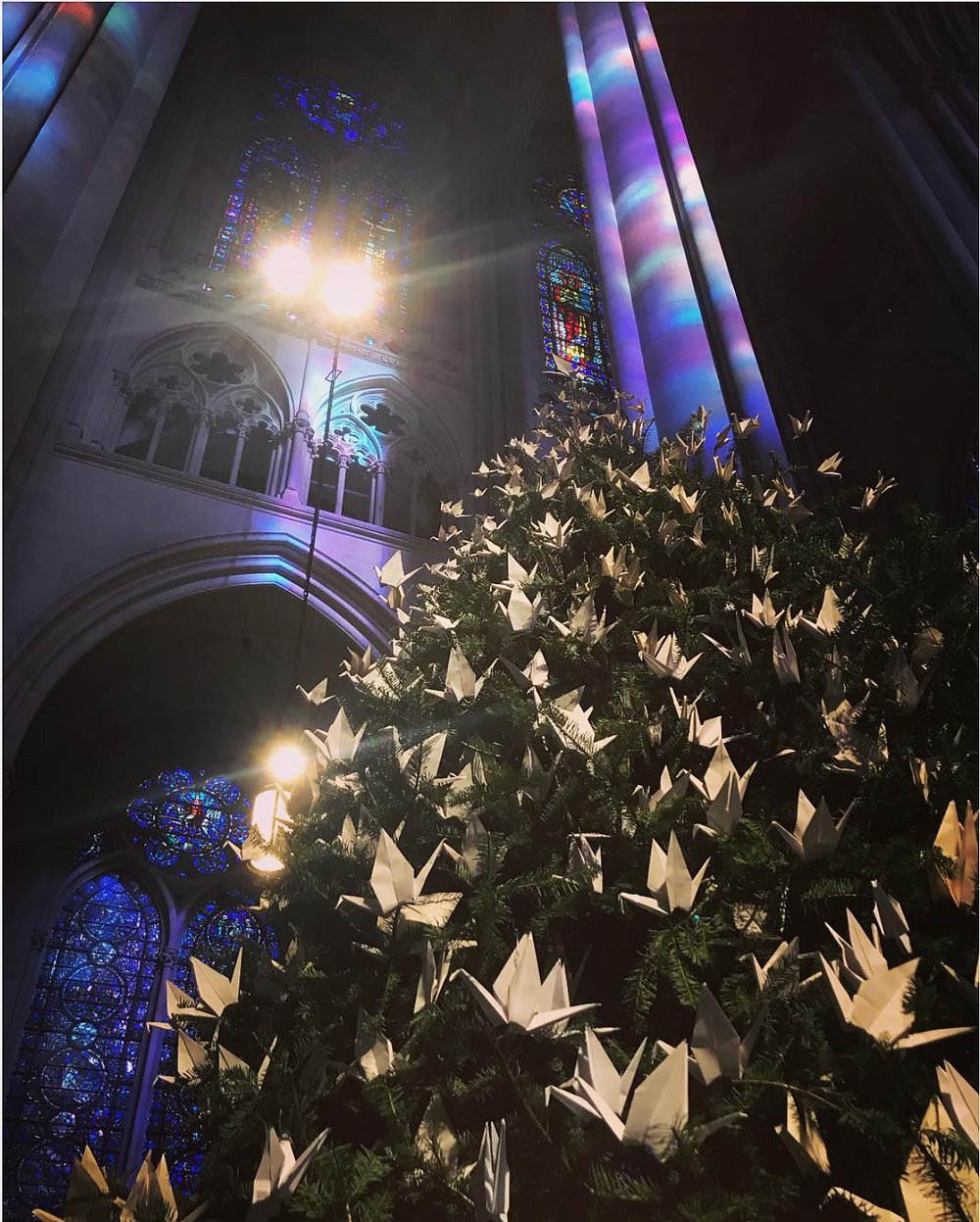 The Peace Tree at the Cathedral of St. John the Divine