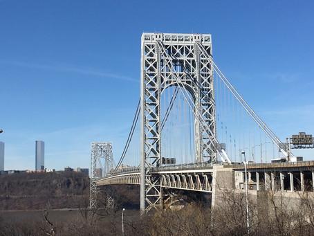 Uptown thrill: walking (or biking) across the George Washington Bridge