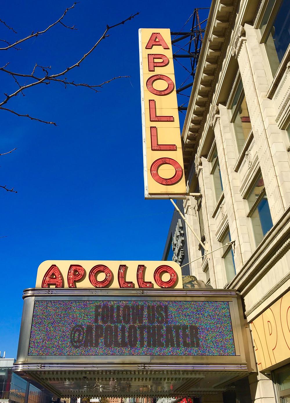 The Apollo Theater in Harlem