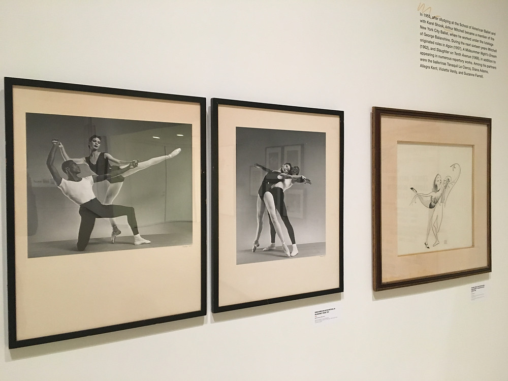 "Photos from ""Arthur Mitchell: Harlem's Ballet Trailblazer"" at the Wallach Art Gallery earlier this year"