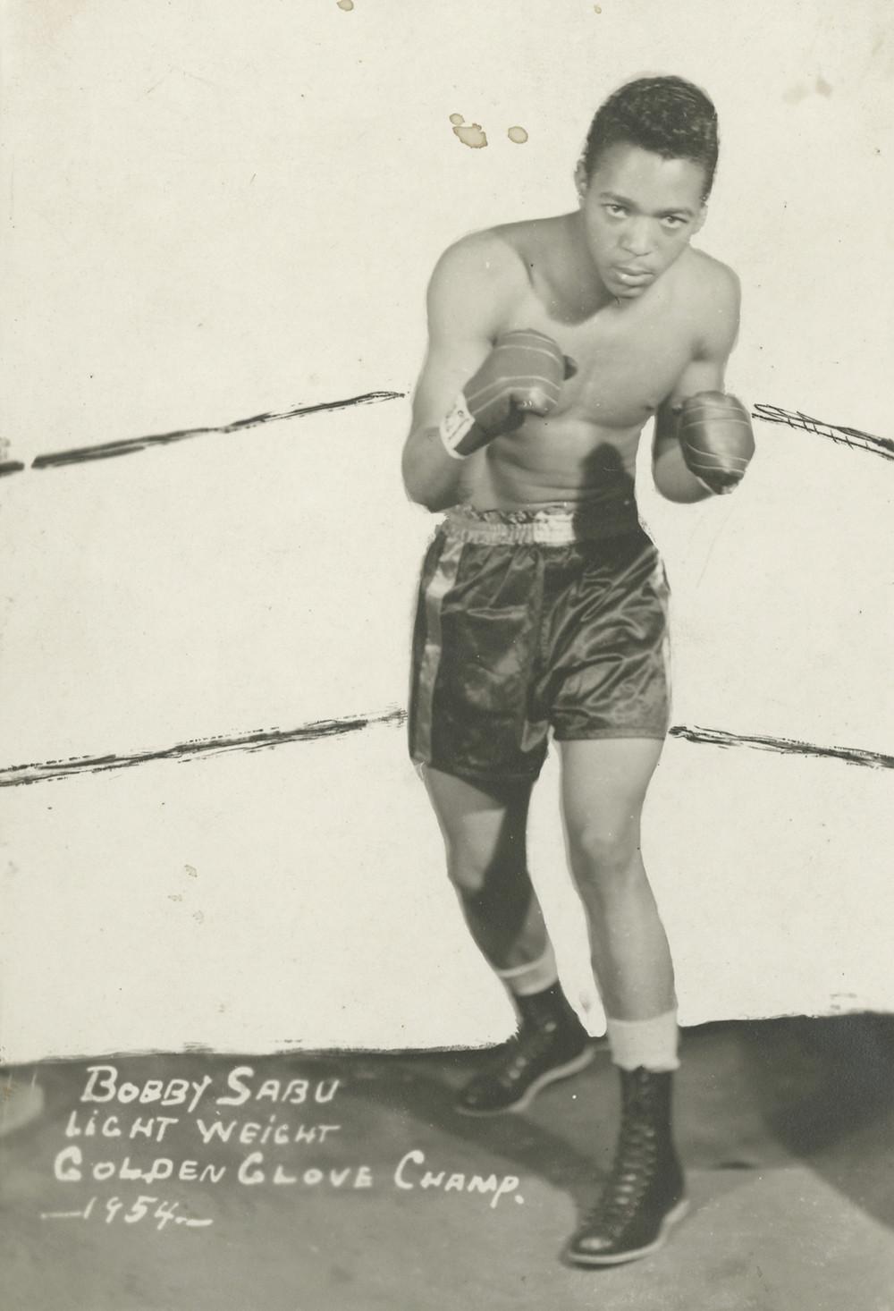 James Van Der Zee, Bobby Sabu, Lightweight Golden Gloves Champ, 1954