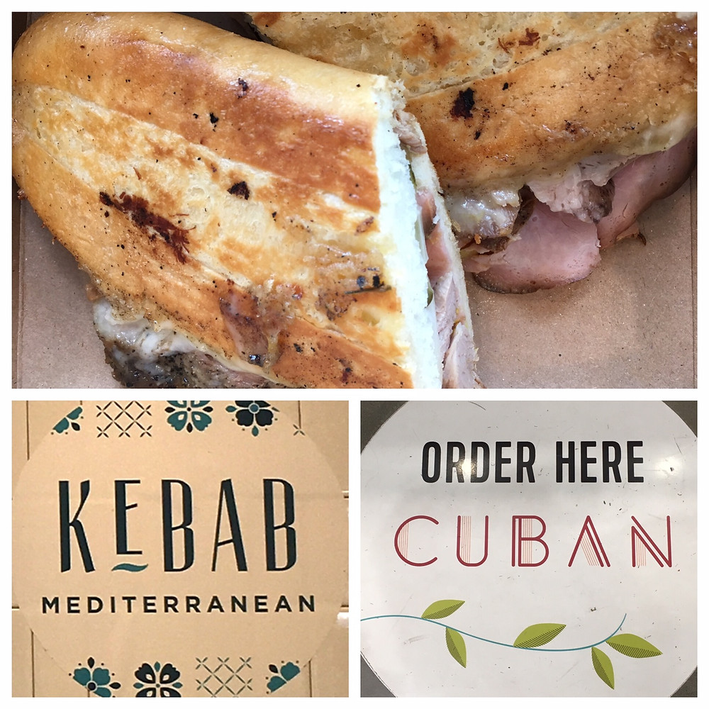 Cuban sandwich and kebab grill at Whole Foods