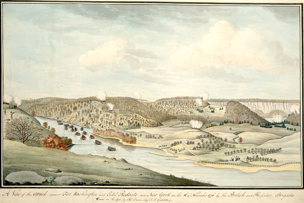 A View of the Attack Against Fort Washington
