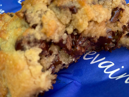 """Levain's """"two chip"""" cookie is finally available in Harlem"""