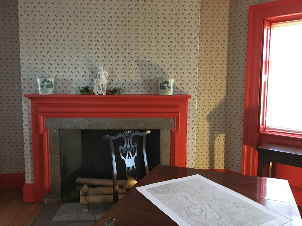 The room where George Washington planned his first victory in battle