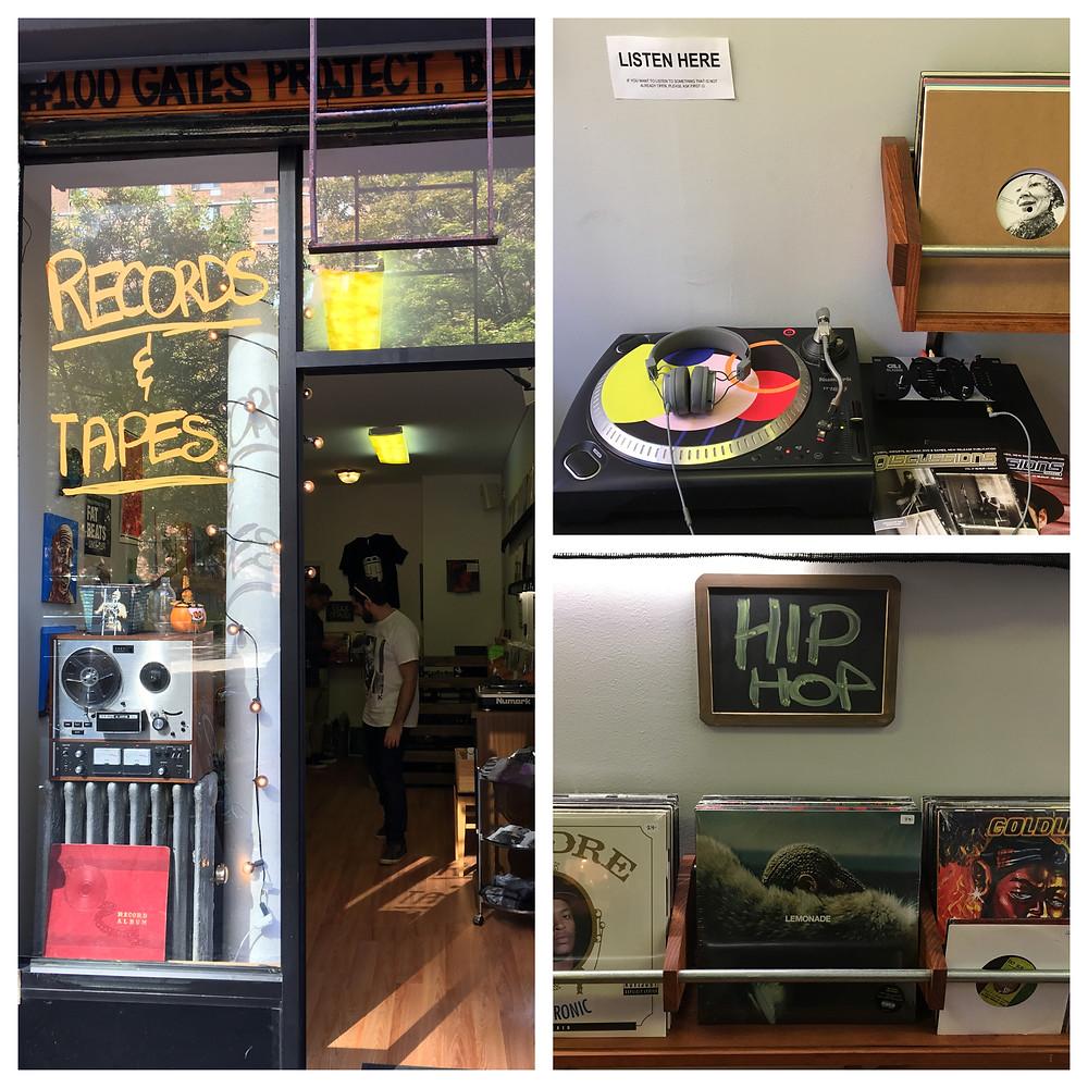 Cinderblock People music shop in Harlem