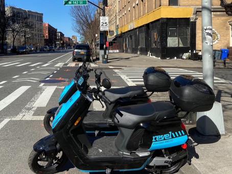 Revel mopeds have arrived in Upper Manhattan