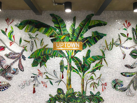 The 163 Street subway station in Washington Heights gets an overhaul–and with it some lush mosaics b