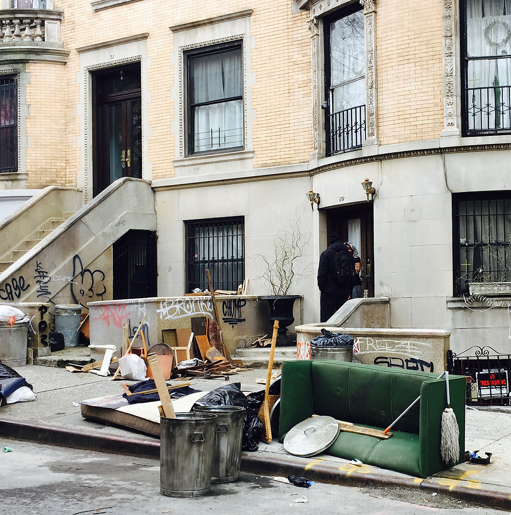 "The '80s-era set of Ryan Murphy's ""Pose"" in Harlem"