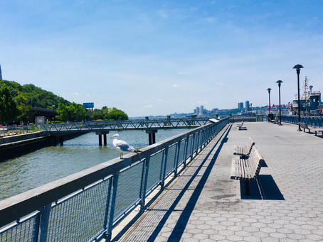 Uptown links: pushing for a ferry at West Harlem Piers, a Harlem sidewalk shed makes news, and more