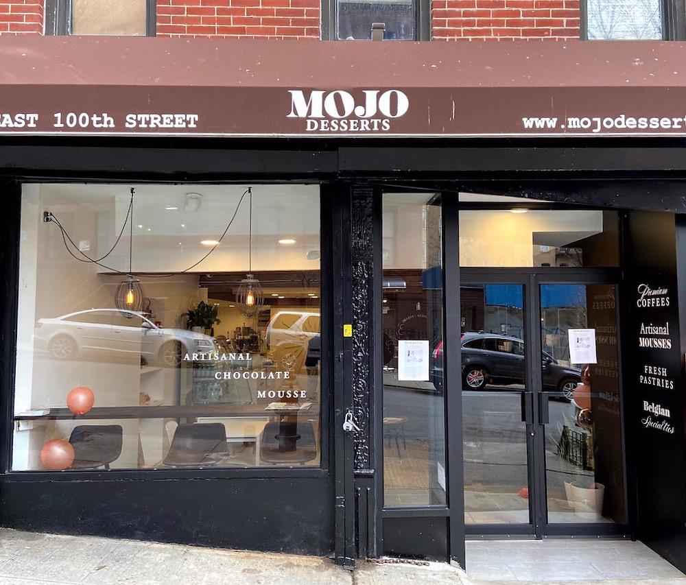 Mojo mousse bar in East Harlem