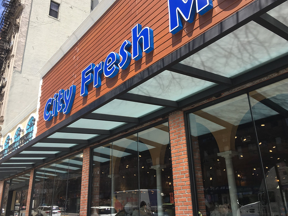 The new City Fresh Market on 116th Street in East Harlem