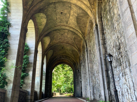 How to find the Billings Arcade, the hidden remains of a spectacular mansion in Fort Tryon Park