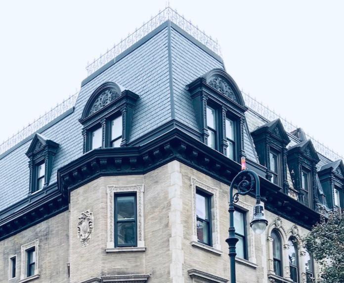 New York walks: this beautiful Harlem neighborhood has mansard roofs galore