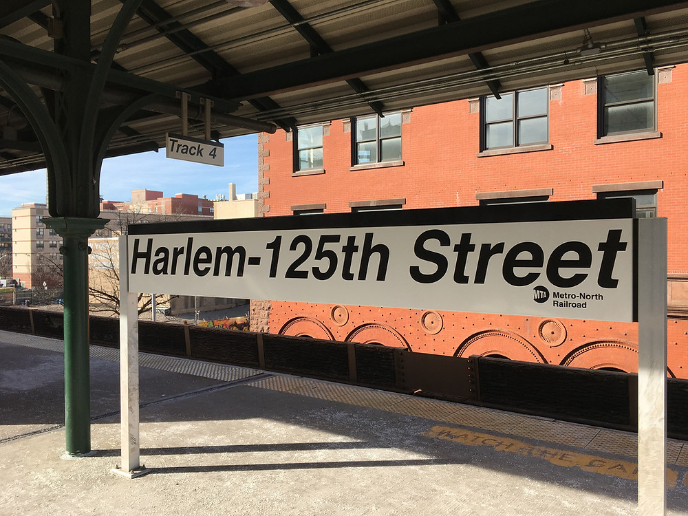 The Harlem-125th Street stop on the Metro-North Railroad