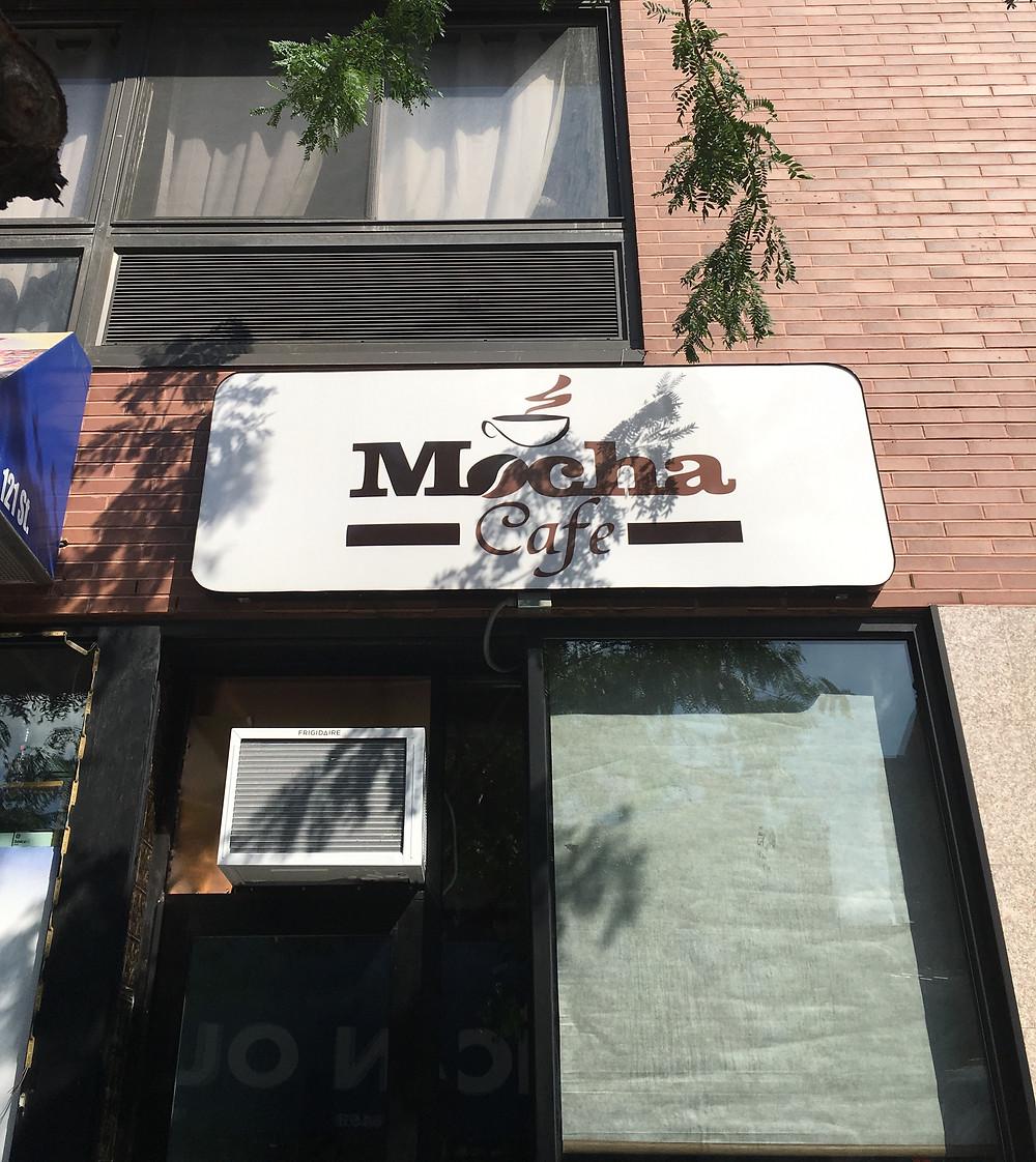 Mocha Cafe in East Harlem