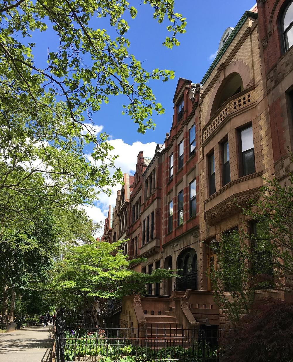 Convent Avenue in Hamilton Heights