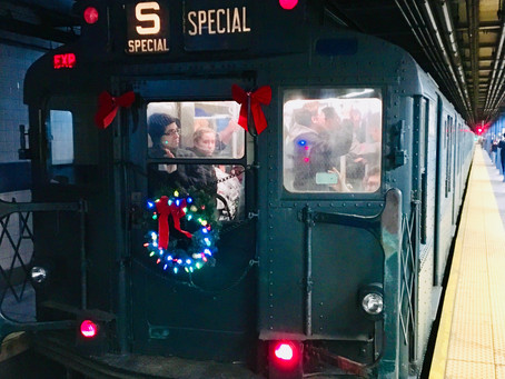 Take the A Train to Harlem–now all the way up to 145th Street–with the MTA's holiday nostalgia rides