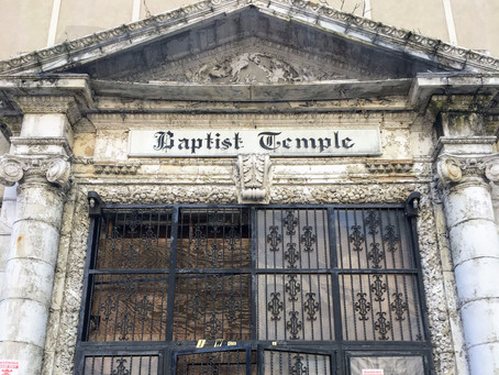 Last days for Harlem's old Baptist Temple Church
