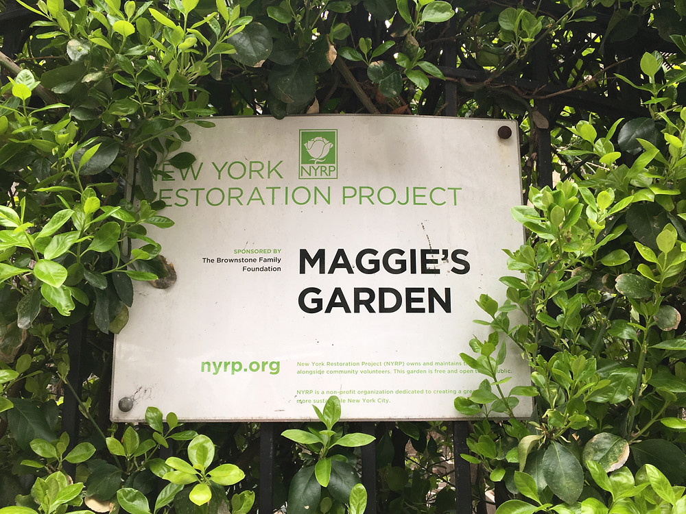 Maggie's Garden on West 149th Street