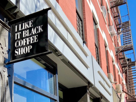 I Like It Black, a new coffee shop from the Make My Cake team, opens in Harlem