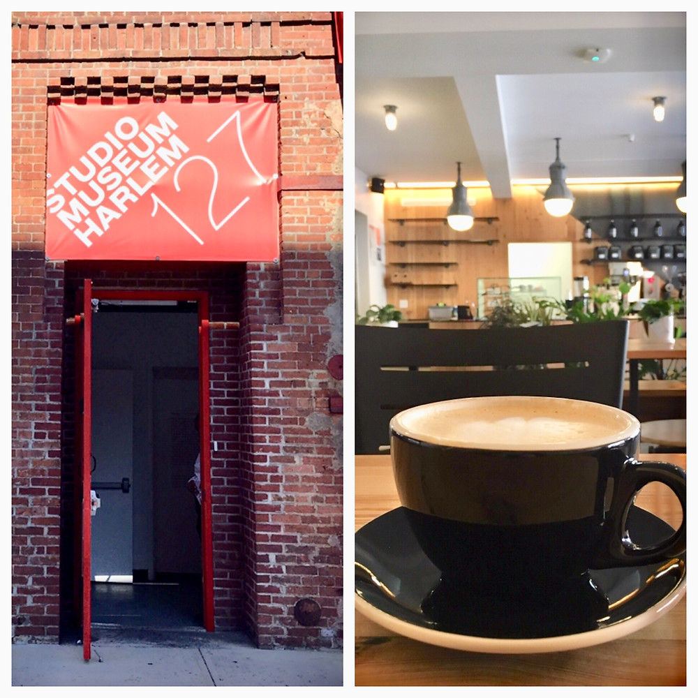 Manhattanville's mini art district now has a coffee shop= too