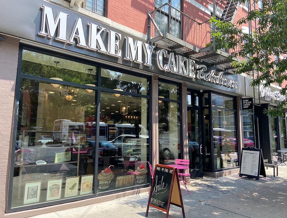Make My Cake's new location on 125th Street.