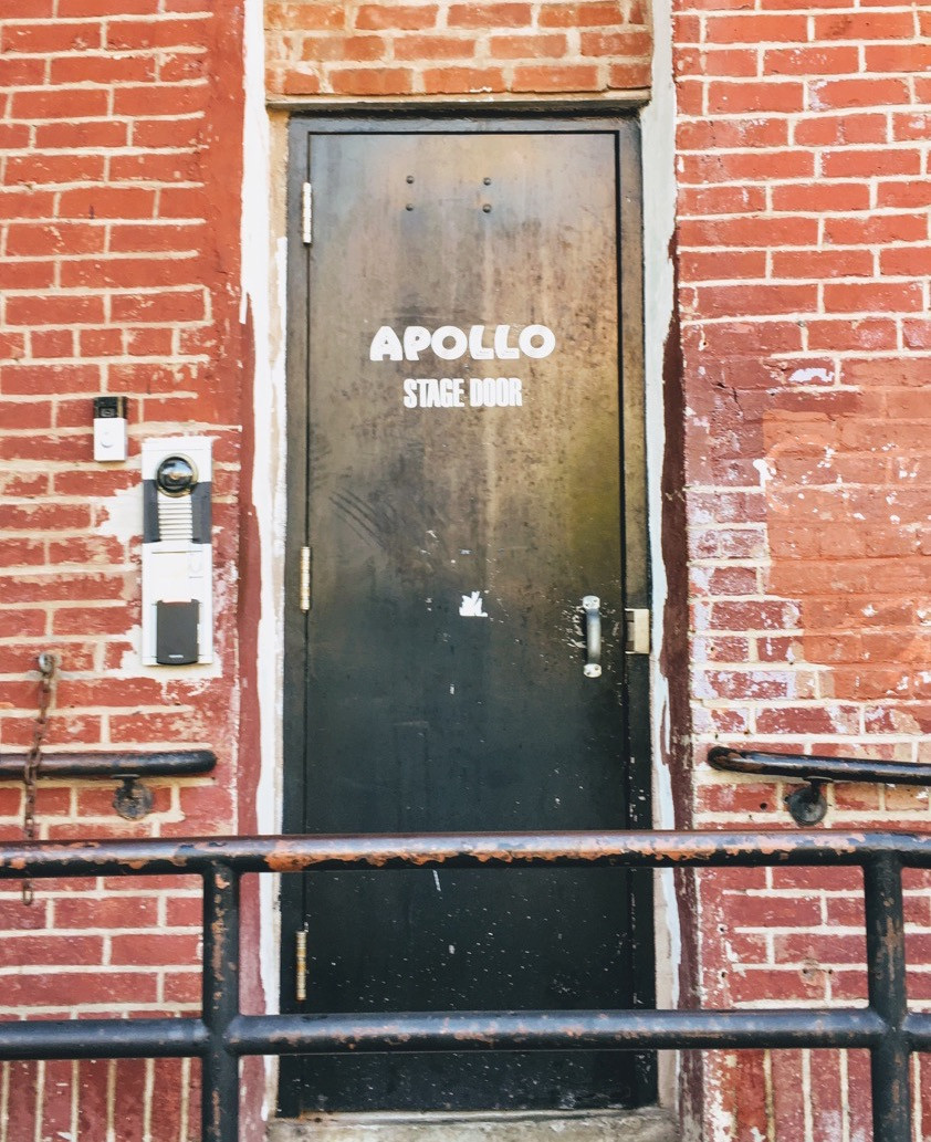 The Apollo Theater's stage door