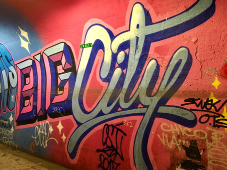 This graffiti artist just took over the Bowery Wall, but an uptown tunnel has even more of her work