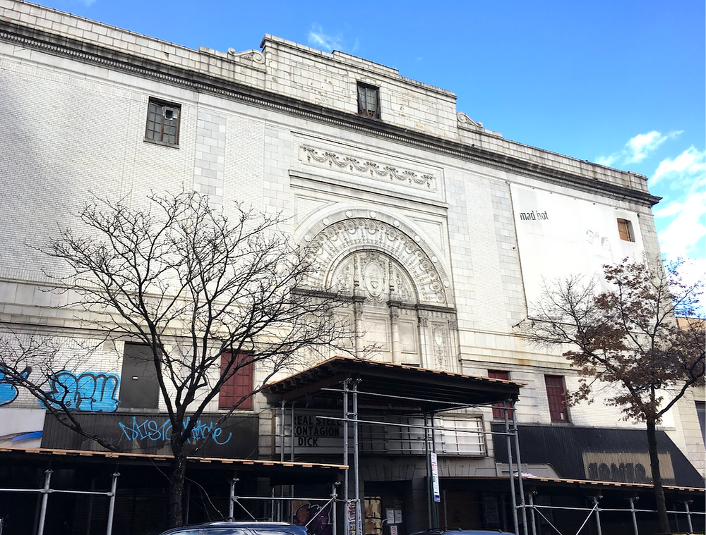 The Coliseum building in Washington Heights in early 2019.