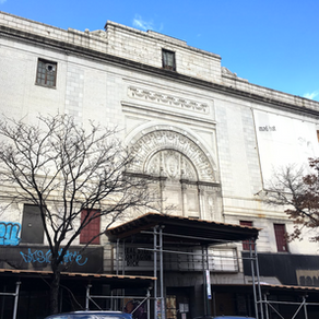 See it: the 100-year-old Coliseum theater in Washington Heights is now mostly rubble