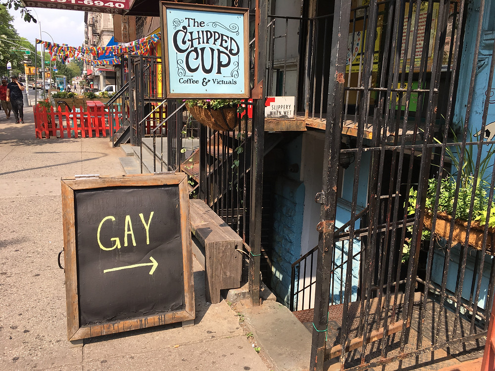 The Chipped Cup welcomes the LGBTQ community