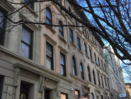 A tale of scaffolding, uptown real estate & the city