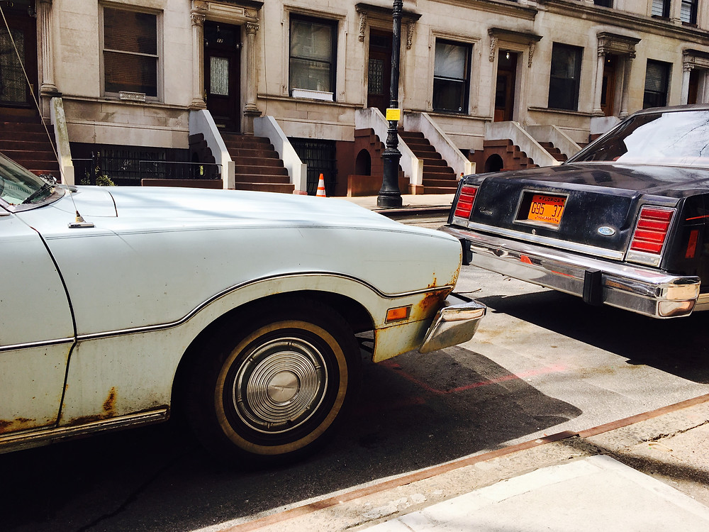"'80s cars on the set of Ryan Murphy's new TV show ""Pose"""