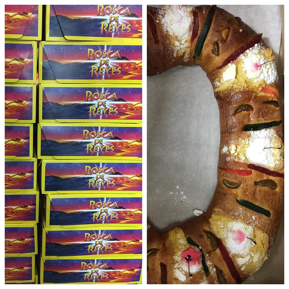 Roscas de reyes are baked fresh in East Harlem