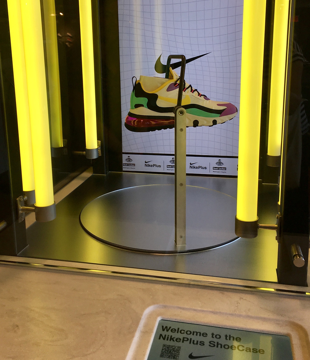 Nike's ShoeCase machine gives you a chance to buy the latest must-have sneaker before anyone else