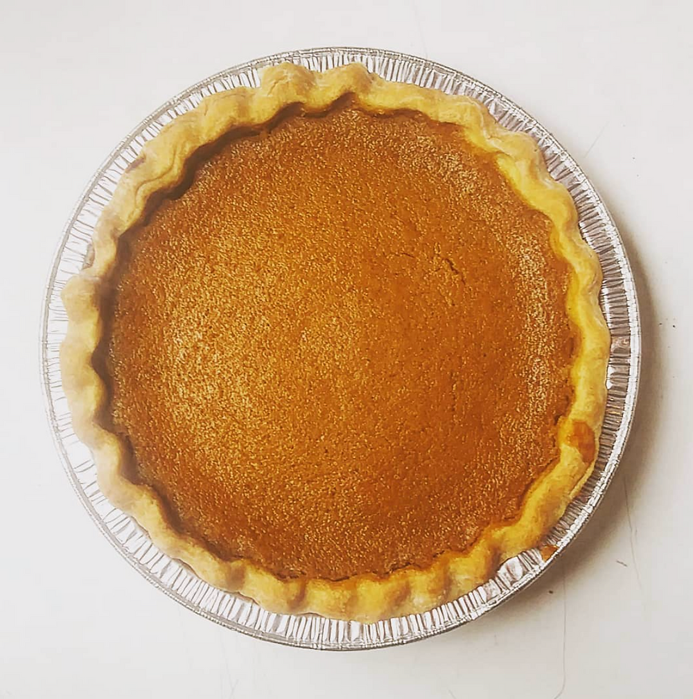 The Southern Bourbon Sweet Potato Pie from Fancy Pies