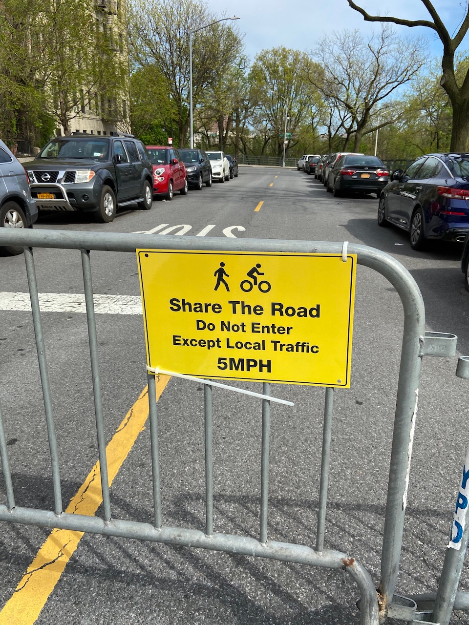 "Laurel Hill Terrace in Washington Heights is part of the city's new ""Open Streets"" program"