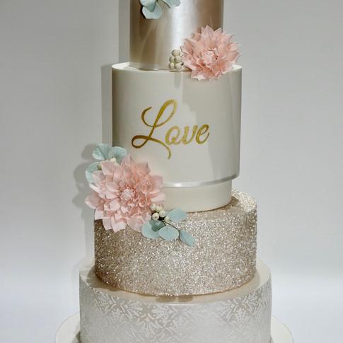 Dahlia Love Cake