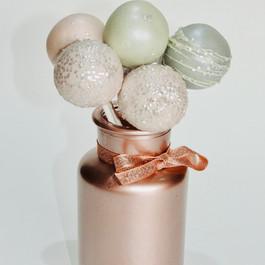 Wedding Cake Pop Jars