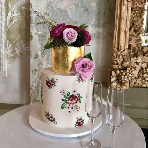 Floral wrap Cake