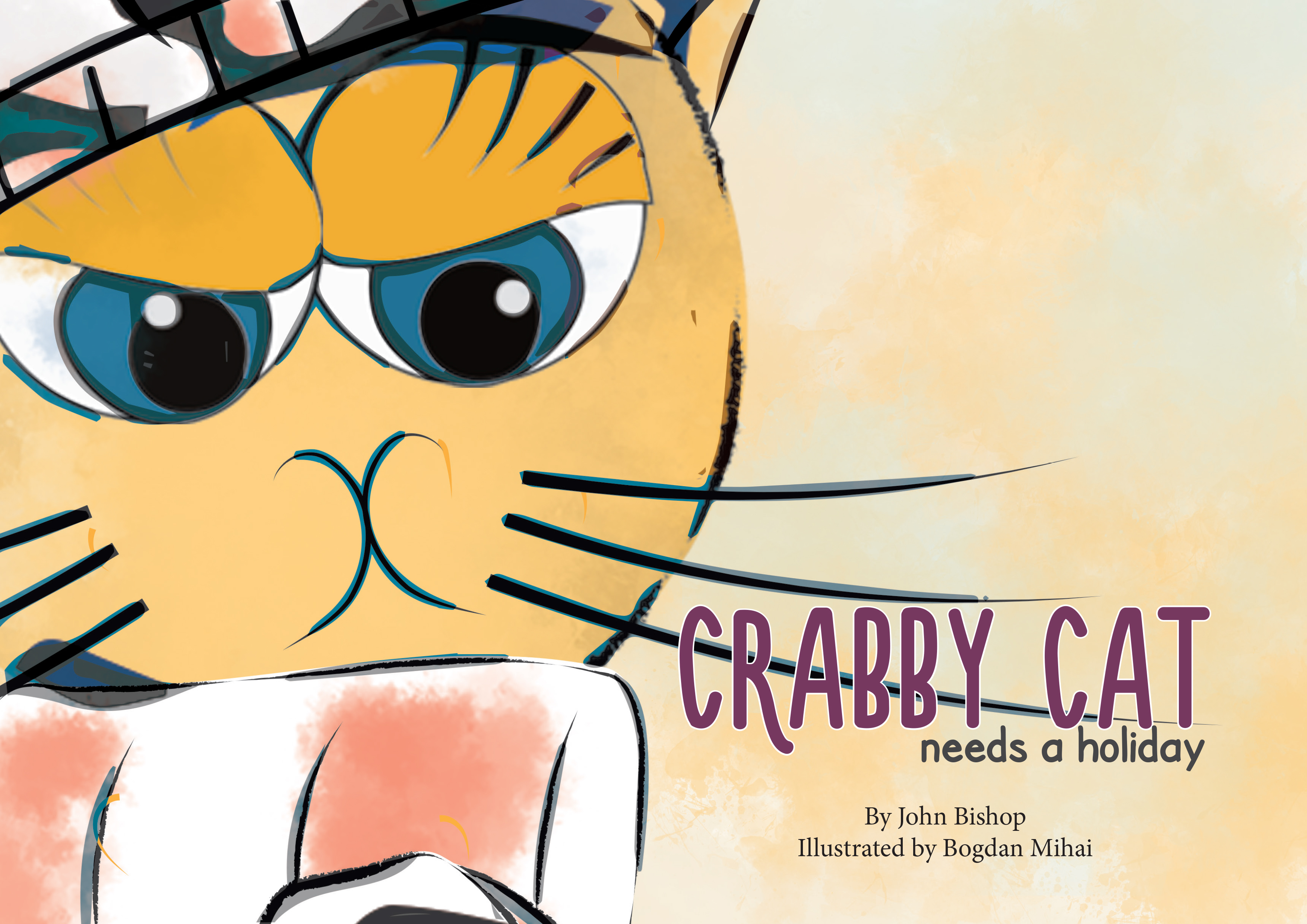 Craby Cat Cover, Book Cover