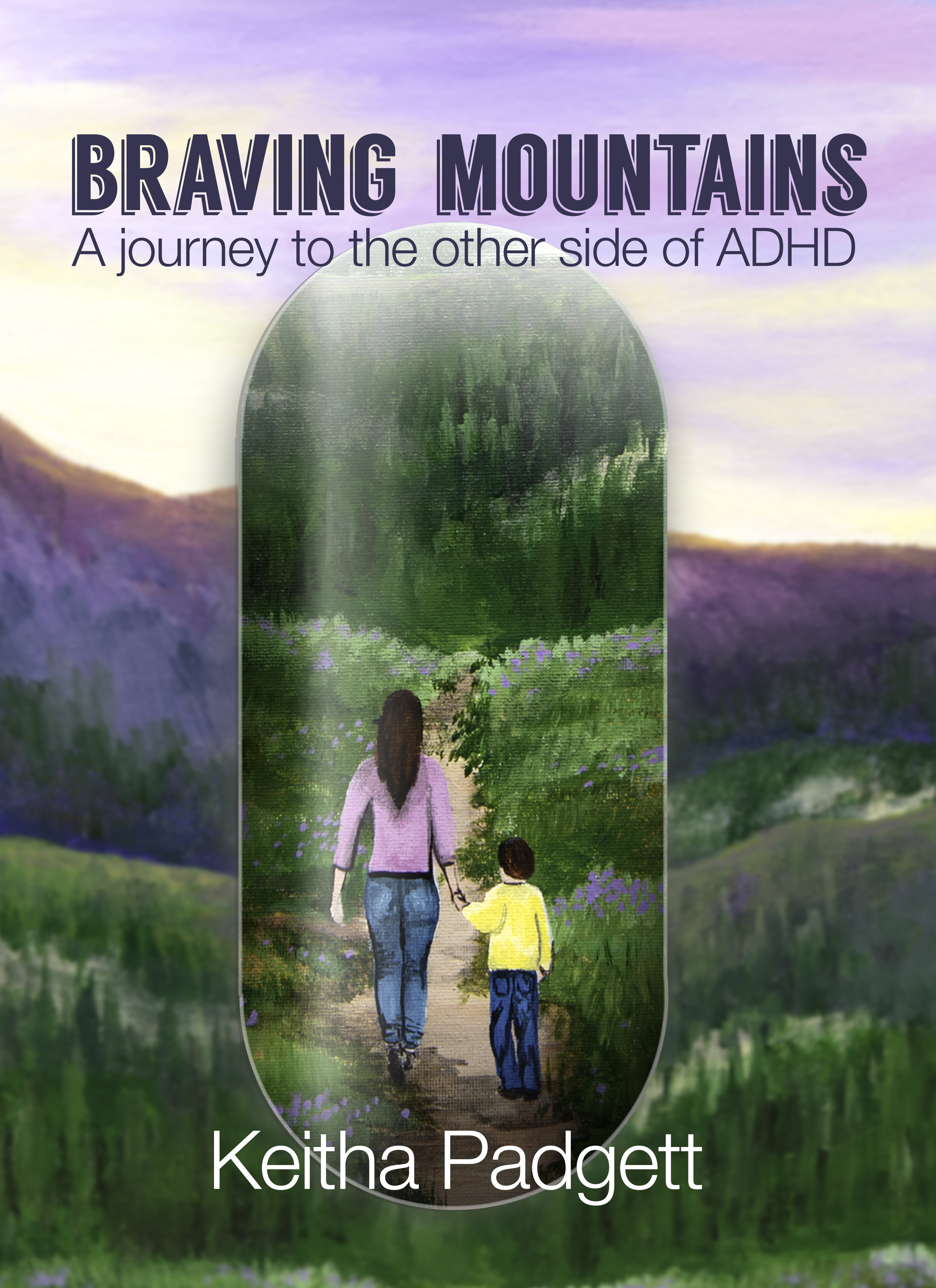 Braving Mountains, Book Cover