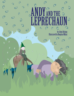 Andy and the Leprechaun, Book Cover